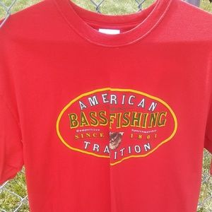 Other - Bass Fishing T-shirt